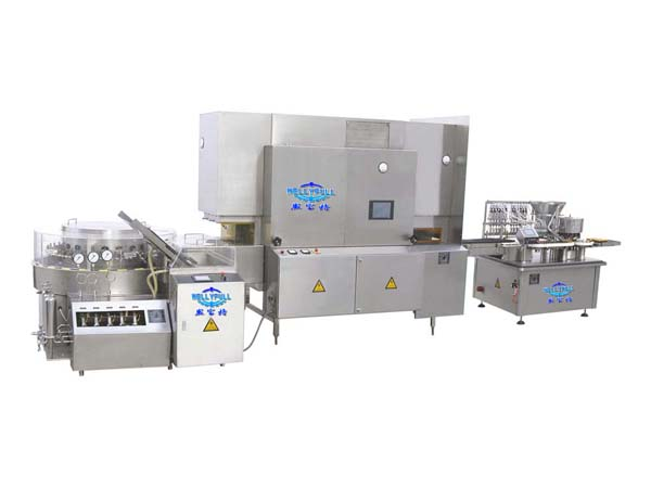 GPR-F Oral Liquid Washing Drying Filling Capping Production Line